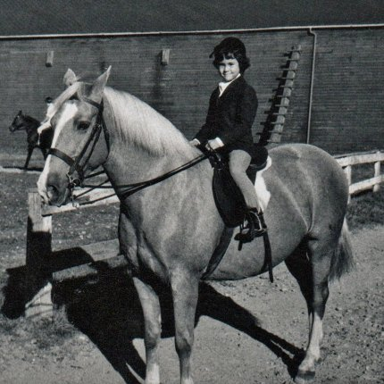 Me and Kitty at Woodbrook Stables
