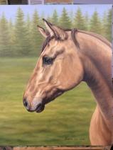 """""""Ally"""", oil on canvas"""