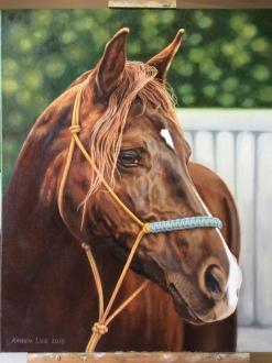 """Mari"", oil on canvas"